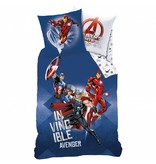 Marvel Avengers Battle - Duvet cover - Single - 140 x 200 cm - Multi