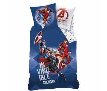 Marvel Avengers Duvet cover Battle 140x200 cm including pajama bag