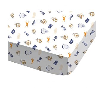 Star Wars Fitted sheet BB8 90 x 200 cm