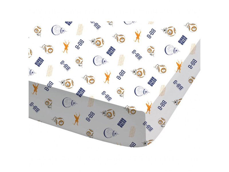 Star Wars BB8 - Fitted sheet - Single - 90 x 200 cm - Multi