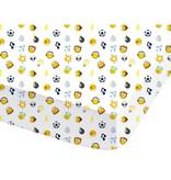 Smiley World Mood - Spannbetttuch - Doppelbett - 140 x 200 cm - Multi