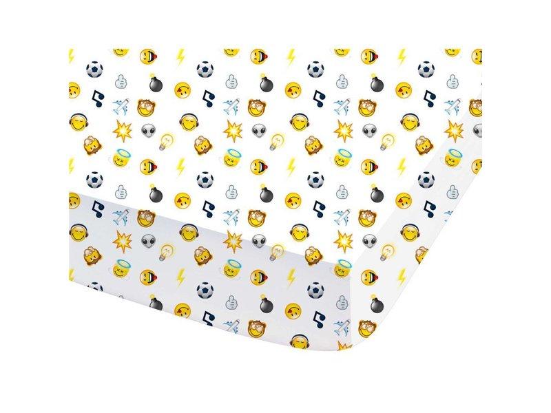 Smiley Mood - Hoeslaken - Tweepersoons - 140 x 200 cm - Multi