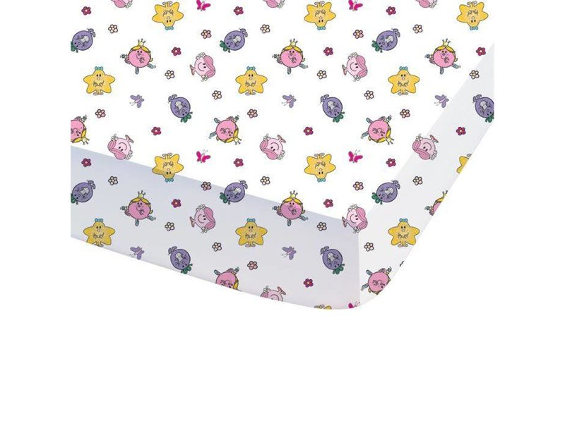 Monsieur Madame Happy Life - Fitted sheet - Single - 90 x 200 cm - Multi