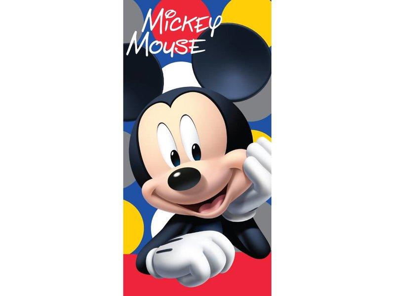 Disney Mickey Mouse Dots - Strandtuch - 70 x 140 cm - Multi