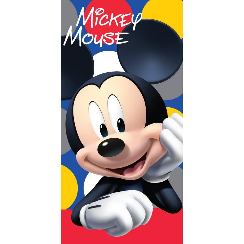 Disney Mickey Mouse Strandlaken, Dots - 70x140cm - Katoen