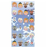 Disney Emoji Frozen famous - Beach towel - 70 x 140 cm - Multi