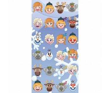 Disney Emoji Beach towel 70x140cm Frozen famous