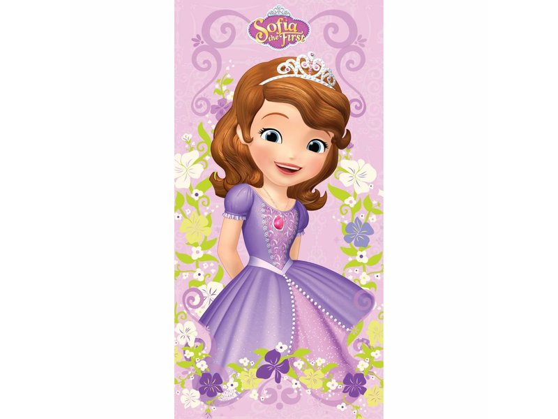 Disney Sofia The First - Strandlaken - 70 x 140 cm - Multi