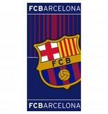 FC Barcelona - Strandlaken - 70 x 140 cm - Blauw