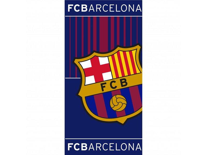 FC Barcelona - Strandtuch - 70 x 140 cm - Blau