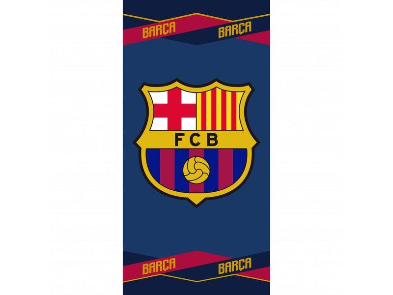 FC Barcelona Strandlaken - 70 x 140 cm - Multi