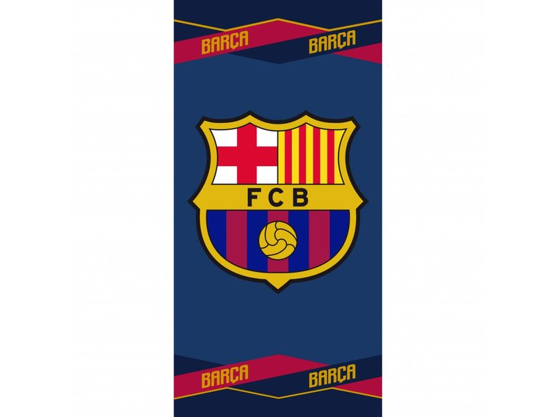 FC Barcelona Strandtuch - 70 x 140 cm - Multi