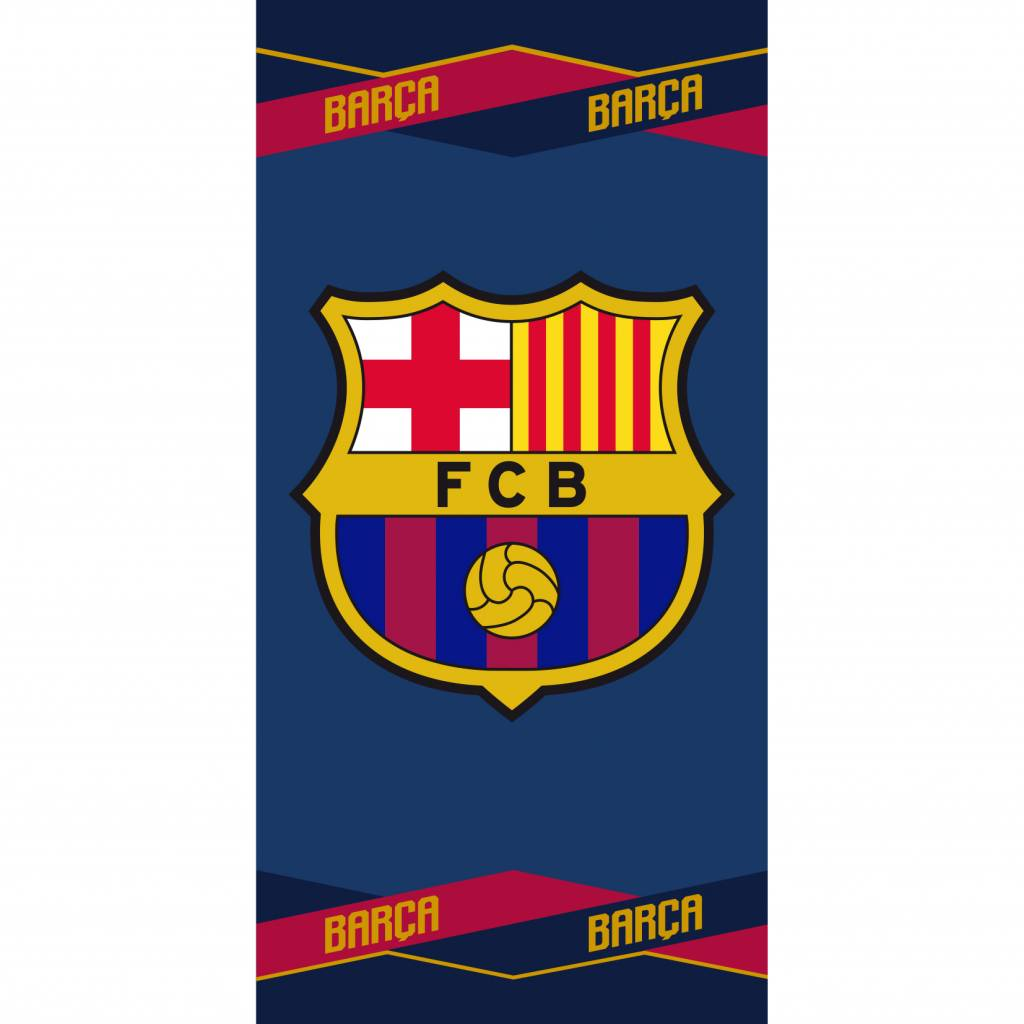 FC Barcelona Strandlaken - 70x140cm - Katoen