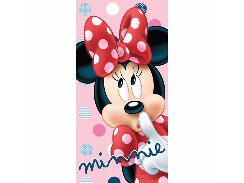Disney Minnie Mouse Dots - Beach towel - 70 x 140 cm - Multi