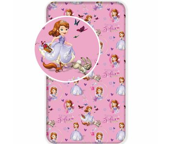 Disney Sofia The First Fitted sheet Garden 90x200cm