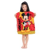 Disney Mickey Mouse Star - Poncho - 50 x 115 cm - Rood