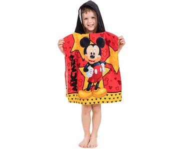 Disney Mickey Mouse Poncho Star