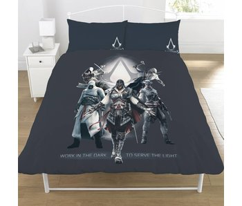 Assassin's Creed Bettbezug Serve the Light 200x200cm