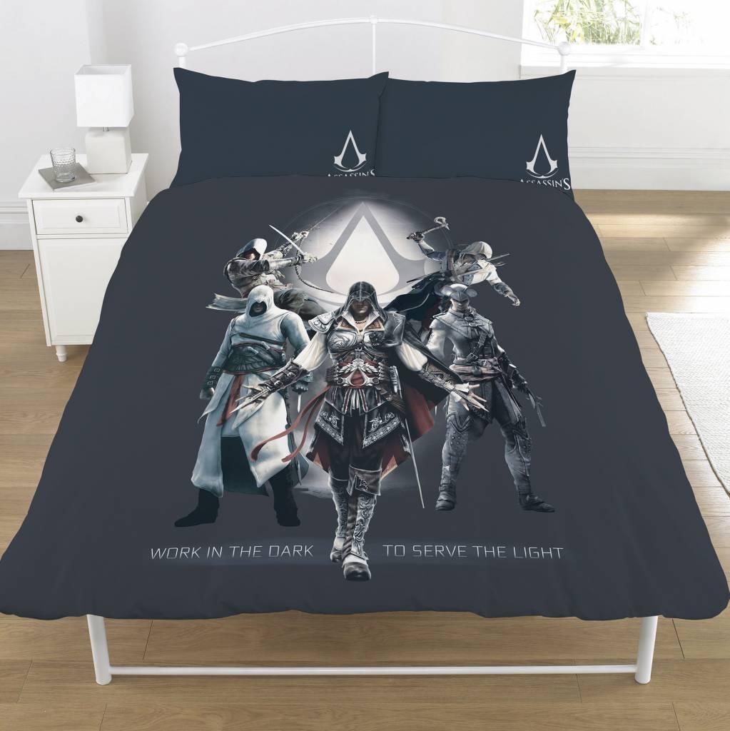 Assassins Creed Dekbedovertrek Serve the Light tweepersoons 200 x 200 cm + 2 kussenslopen 50x75cm -