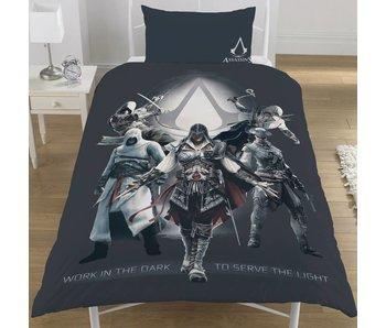 Assassin's Creed Housse de couette Serve the Light 135x200 cm