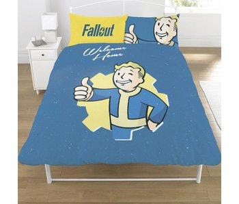 Fallout Shelter Dekbedovertrek Vault Boy 200x200cm