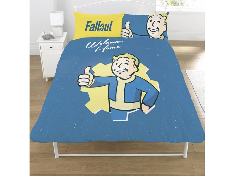 Fallout Shelter Vault Boy - Bettbezug - Doppelbett - 200 x 200 cm - Multi