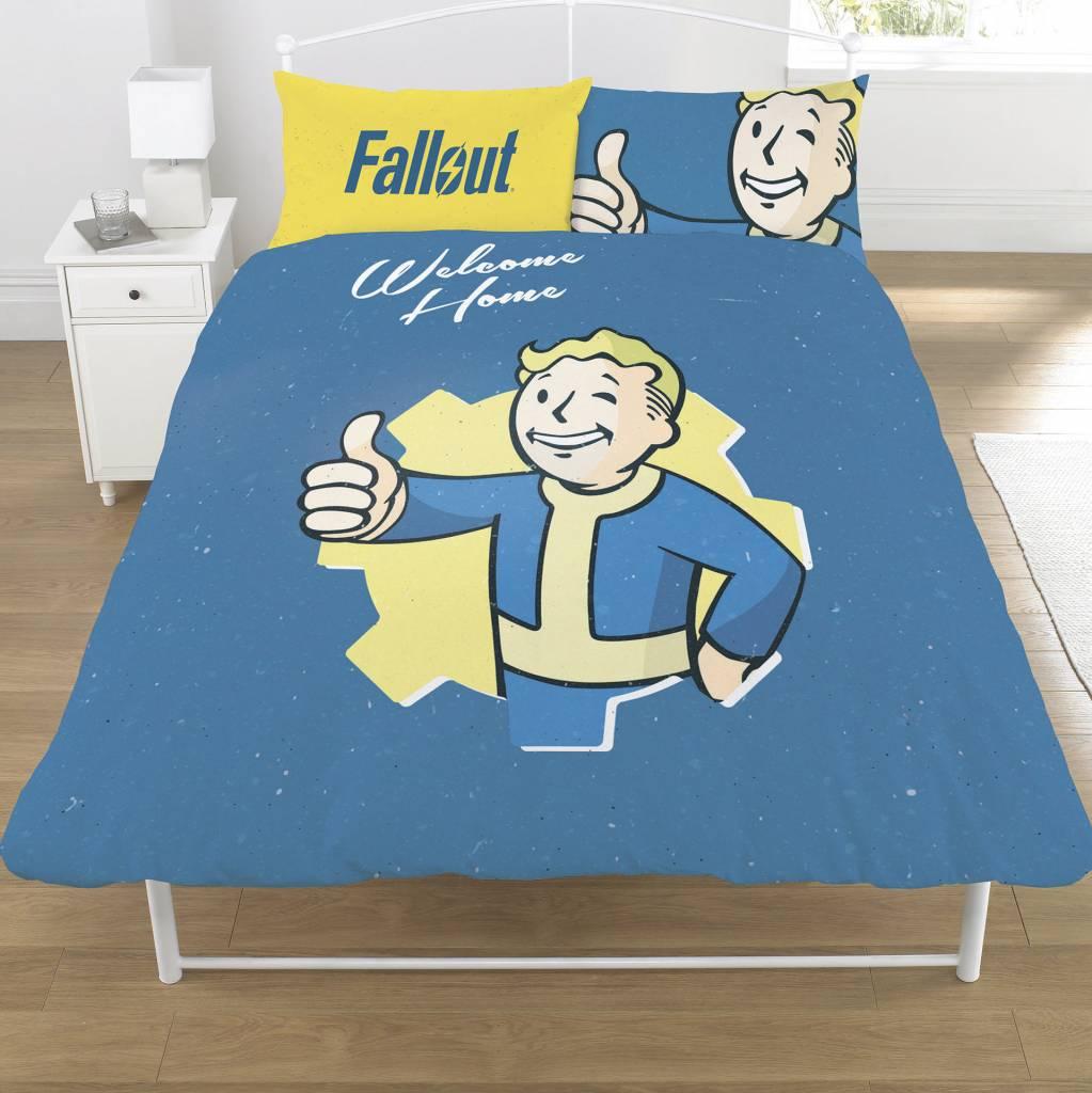 Fallout Dekbedovertrek tweepersoons Vault Boy 200 x 200 cm + 2 kussenslopen 50 x 75 cm - Polycotton