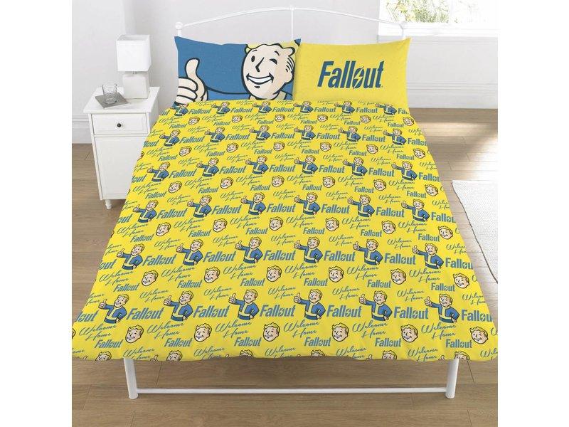 Fallout Shelter Vault Boy - Duvet cover - Double - 200 x 200 cm - Multi