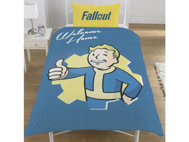 Fallout Shelter Vault Boy - Bettbezug - Einzel - 135 x 200 cm - Multi