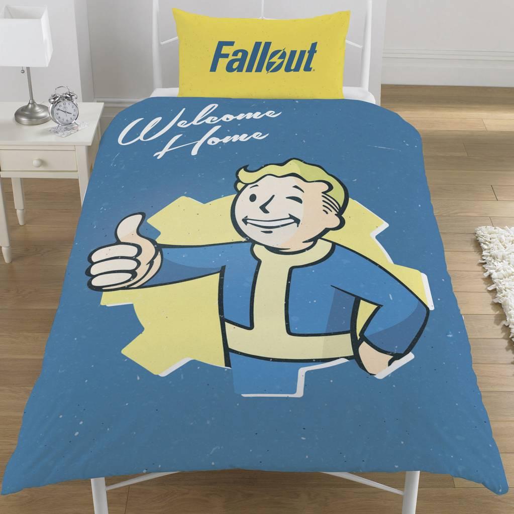 Fallout Dekbedovertrek Vault Boy 135 x 200 cm + 1 kussensloop 50 x 75 cm - Polycotton