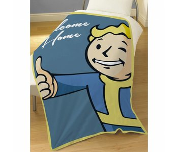 Fallout Shelter Fleece Decke Vault Boy 100x150cm