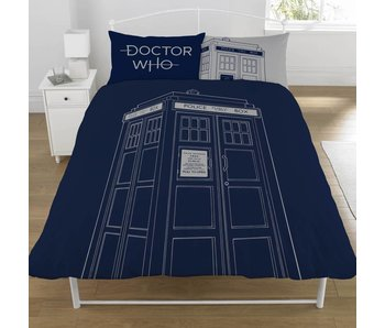 Dr Who Duvet cover Classic Tardis 200x200cm
