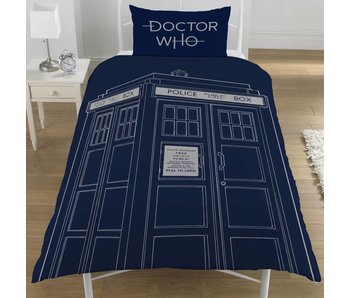 Dr Who Bettbezug Classic Tardis 135x200cm
