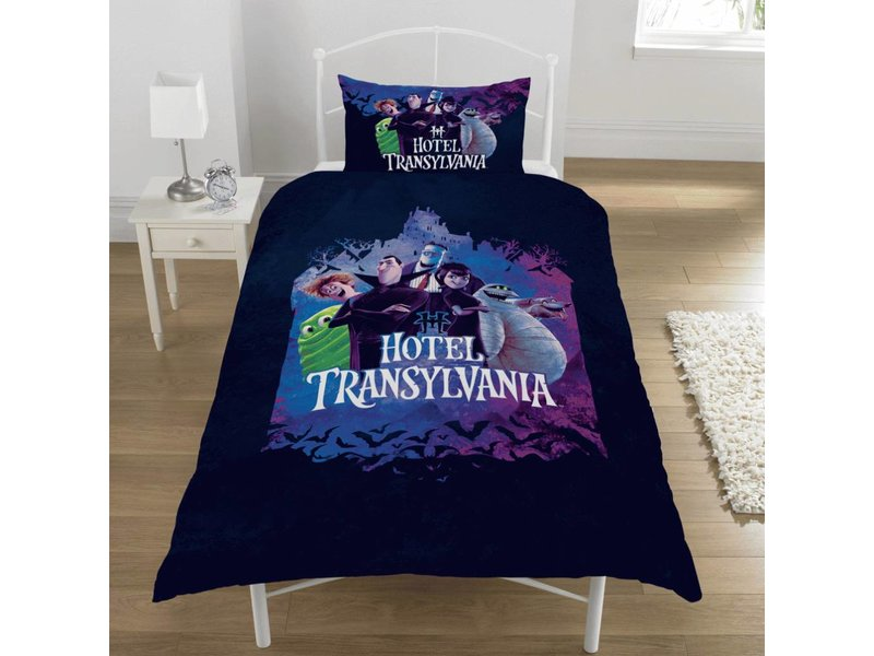 Hotel Transylvania Casts - Duvet cover - Single - 135 x 200 cm - Multi