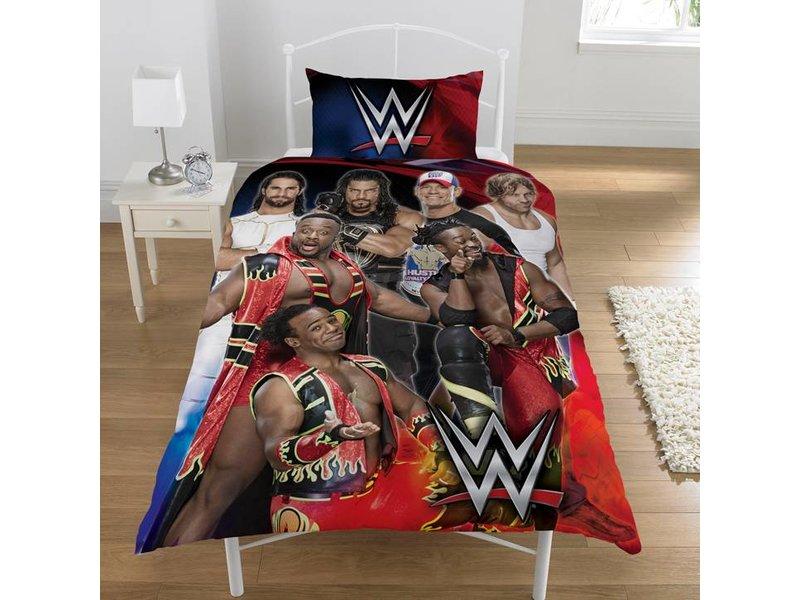 World Wrestling Entertainment Super 7 - Bettbezug - Einzel - 137 x 200 cm - Multi