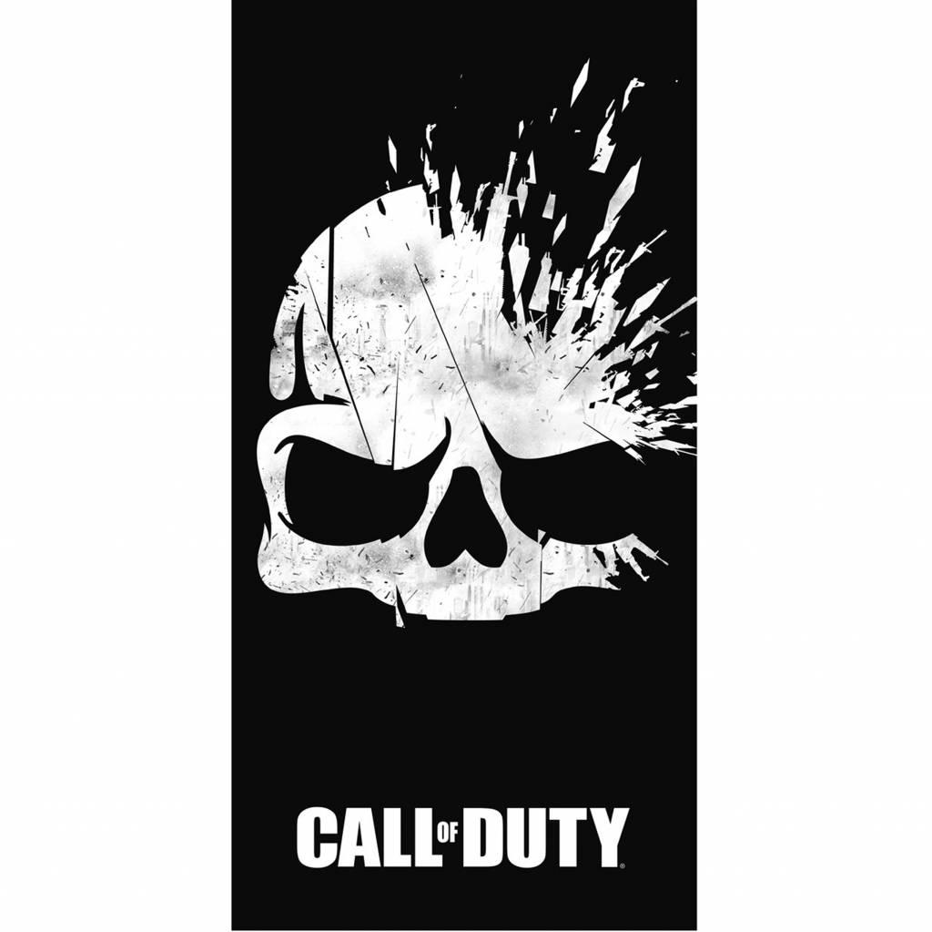 Call of Duty Strandlaken Broken Skull 70 x 140 cm - Katoen