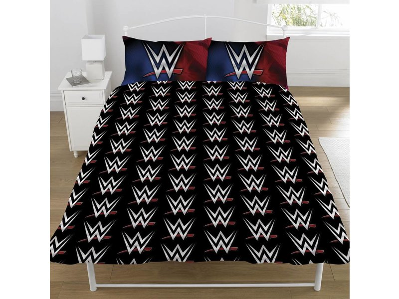 World Wrestling Entertainment Super - Bettbezug - Doppelbett - 200 x 200 cm - Multi