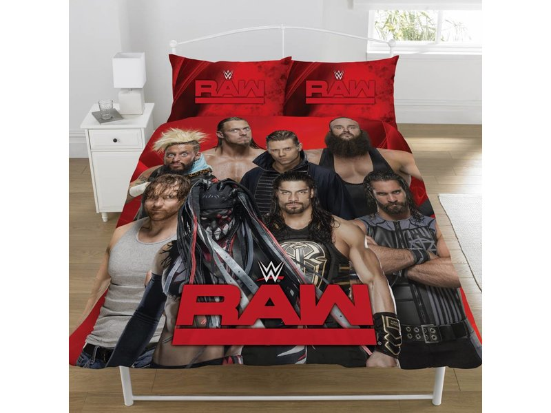 World Wrestling Entertainment Raw VS Smackdown - Duvet cover - Double - 200 x 200 cm - Multi