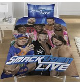 World Wrestling Entertainment Raw VS Smackdown - Duvet cover - Single - 135 x 200 cm - Multi