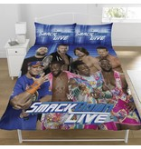 World Wrestling Entertainment Raw VS Smackdown - Bettbezug - Doppelbett - 200 x 200 cm - Multi