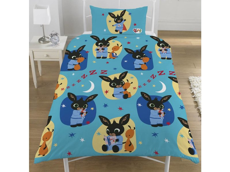 Bing Bunny Bedtime - Duvet cover - Single - 135 x 200 cm - Multi