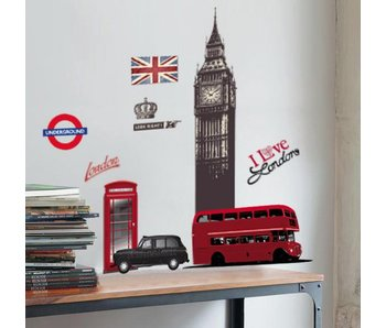 Muursticker Vinyl London