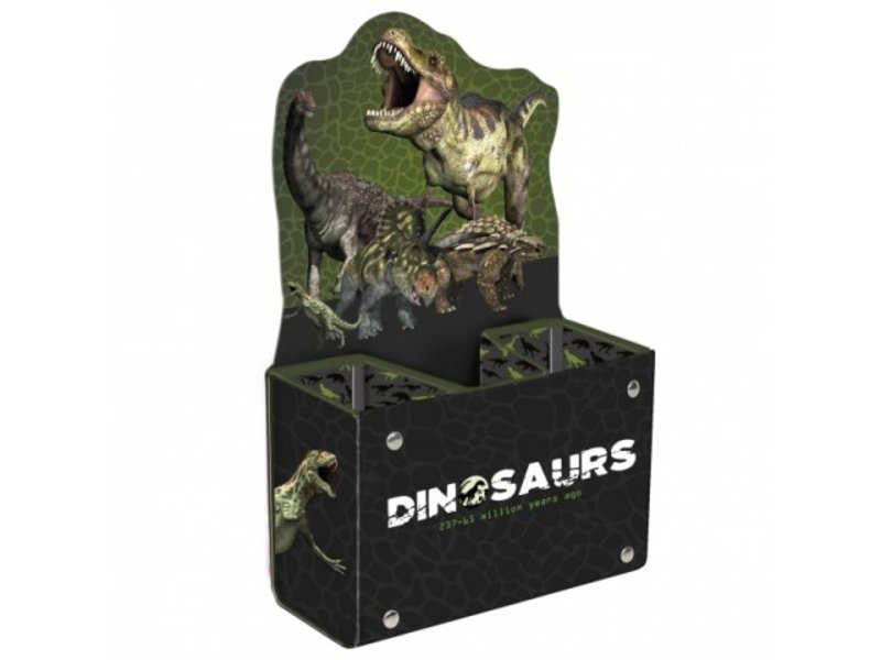 Animal Pictures Dinosaur - Pen tray - Green