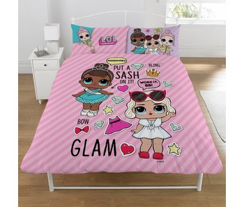 L.O.L. Surprise! Duvet cover Glam 2-person 200x200 + 50x75 (2 pcs,)
