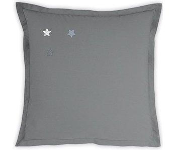 Matt & Rose Taie d'oreiller Douce Nuit Gris Graphite 65x65 cm