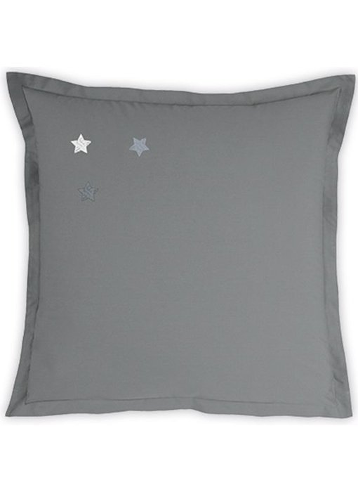 Matt & Rose Pillowcase Douce Nuit Graphite Grey 65x65 cm