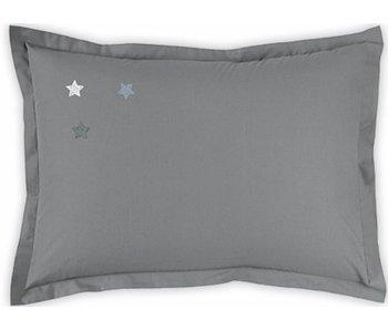 Matt & Rose Zierkissenbezug Douce Nuit Graphitgrau 50x70 cm