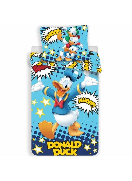Disney Donald Duck Dekbedovertrek Whoop 140x200 cm