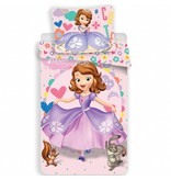 Disney Sofia The First Dress - Duvet cover - Single - 140 x 200 cm - Multi