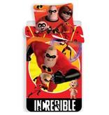 The Incredibles II - Housse de couette - Seul - 140 x 200 cm - Rouge